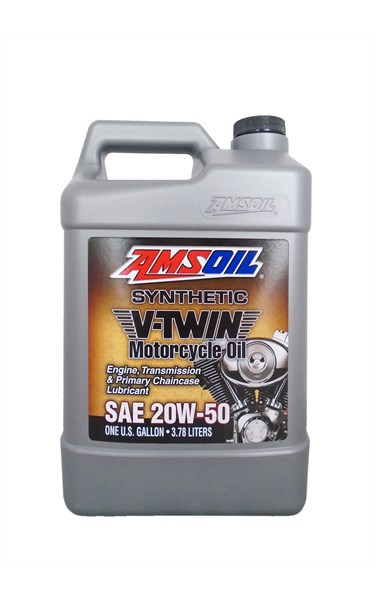 20W-50 Synthetic V-Twin Motorcycle Oil