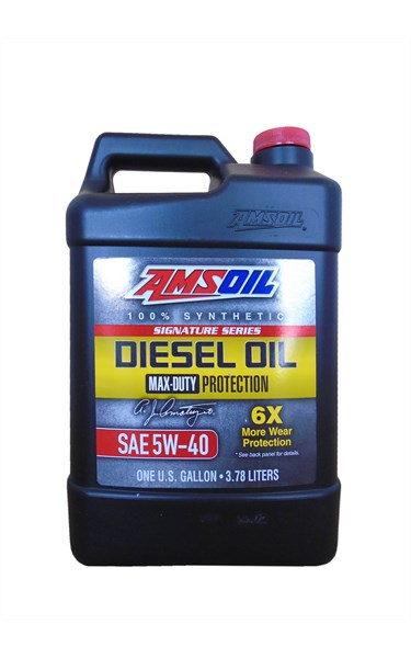 Signature Series Max-Duty Synthetic Diesel Oil 5W-40